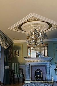 Helena Hart has used SPC spandels to create a beautiful ceiling panel