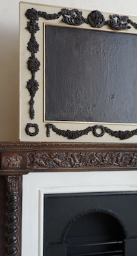 Downton Abbey fireplace and overmantel was comissioned by a customer and is based on the original.